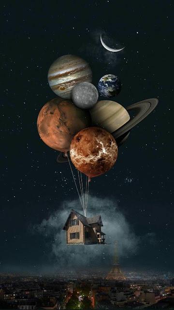 3D Art, pianeti e satelliti