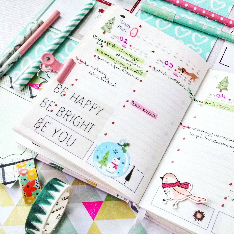 jak prowadzić planner, powody dla których warto prowadzić planner, jak dekorować planner, jakie dodatki do plannera używaćr