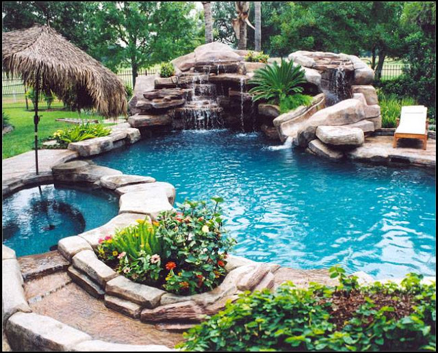Pool Custom Landscape