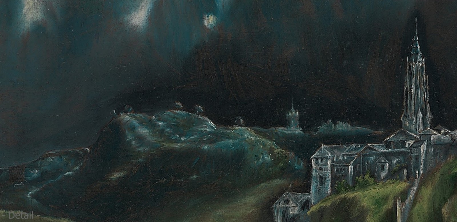 an analysis of el grecos landscape paintings El greco (1541-1614) view of toledo (1599) mannerism el greco is one of largest representing mannerism although it of greek origin and was born in candie in crete, spanish painting owes him its world famous.