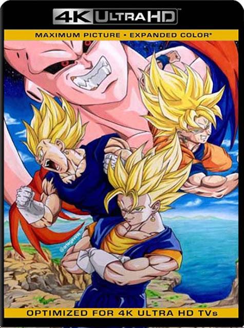 Dragon Ball Z Temporada 9: La Saga de la Fusión & Kid Bu 4K UltraHD tetra audio [GoogleDrive] DizonHD