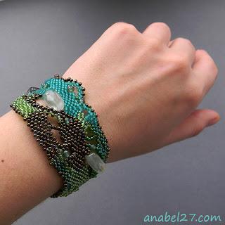 купить эксклюзивные браслеты из бисера ручной работы фото цена