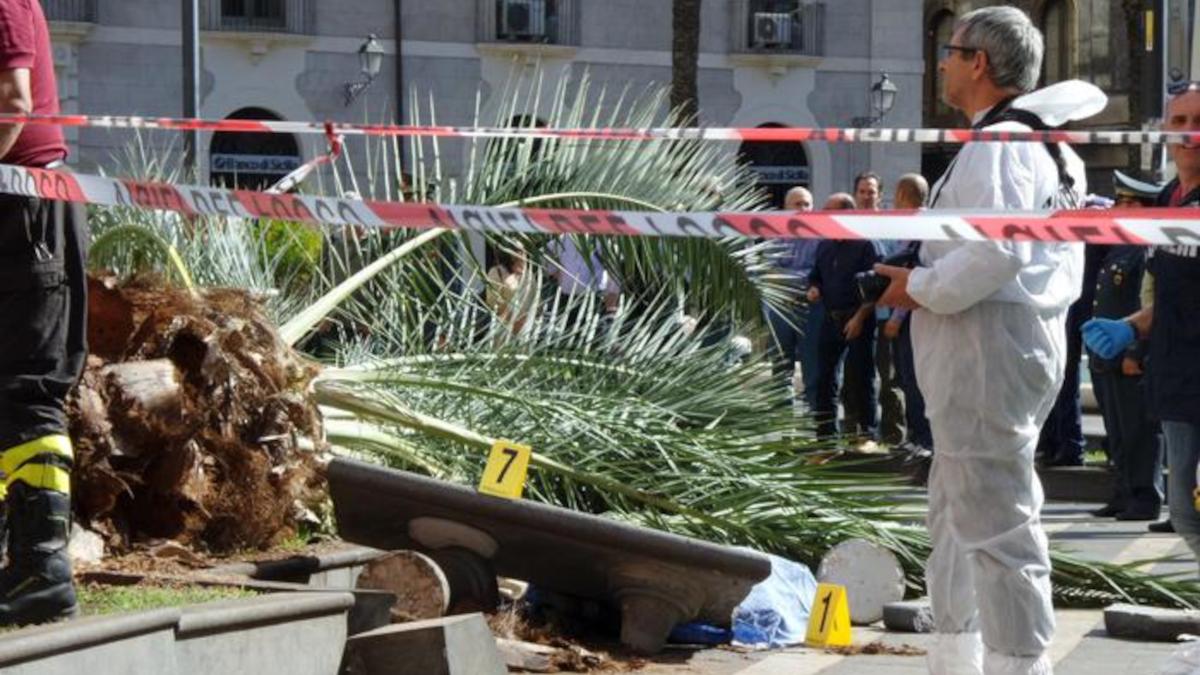 Patrizia Scalora uccisa da palma piazza Cutelli Tribunale di Catania COmune di Catania