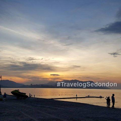 Travelog Sedondon @ Pantai Tanjung Rhu