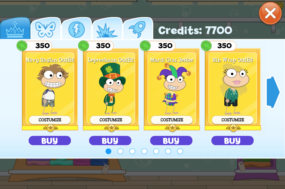 The New Poptropica Store is HERE! - Poptropica Creators' Blog