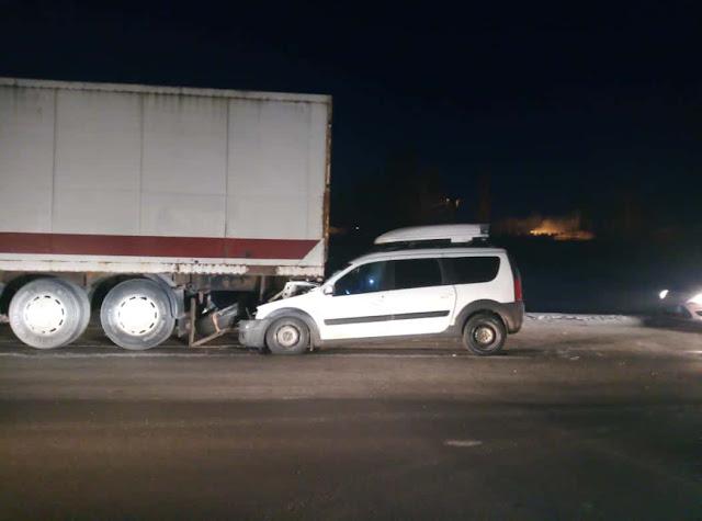 в Стерлитамакском районе столкнулись Лада Ларгус и грузовик