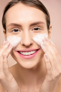 Exfoliate your skin if you have oily skin