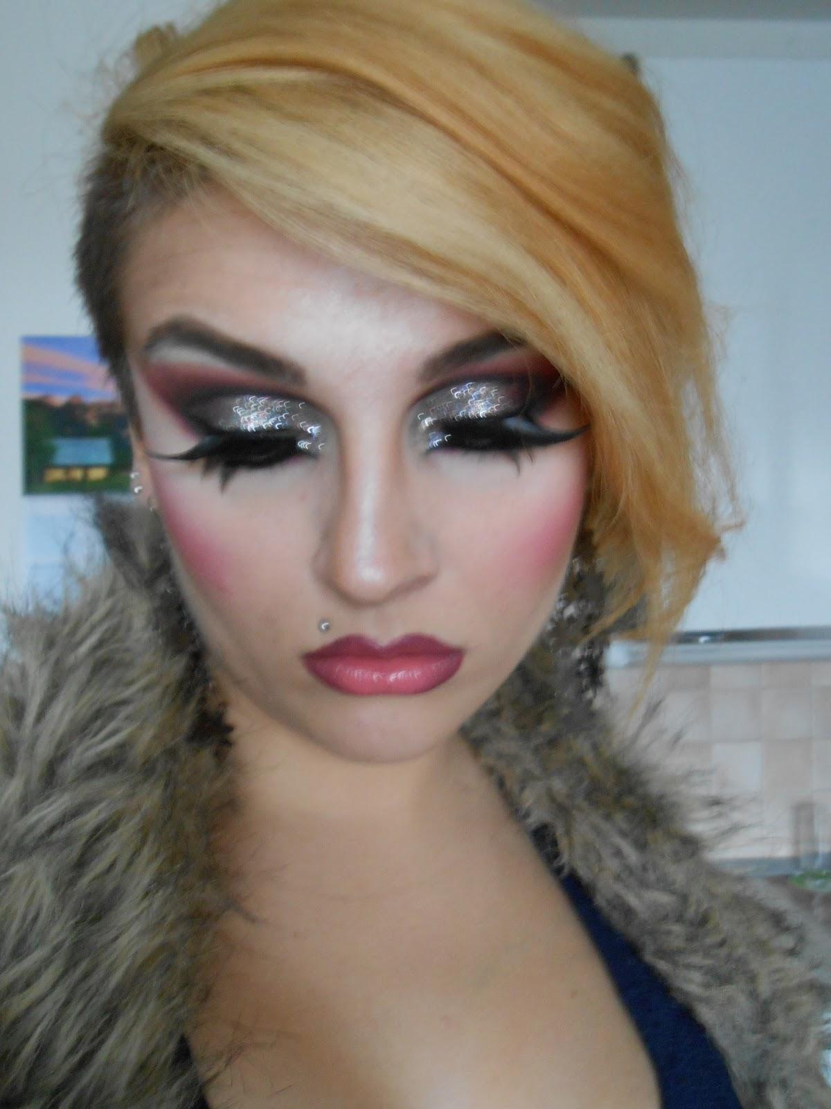 Drag Queen Make Up: Deja Zu: Halloween Series: DRAG QUEEN