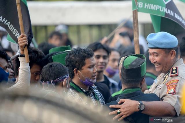 Aksi Solidaritas PB HMI Atas Tragedi September Berdarah Kendari