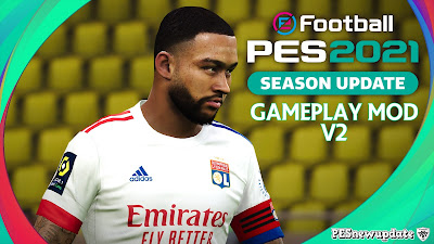 PES 2021 Gameplay Mod Live Football Match V2 by Holland
