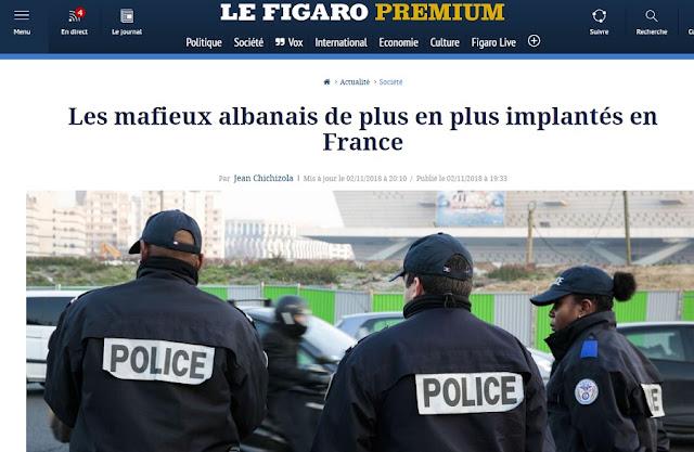 Le Figaro: The Albanian mafia conquers France and expects EU membership