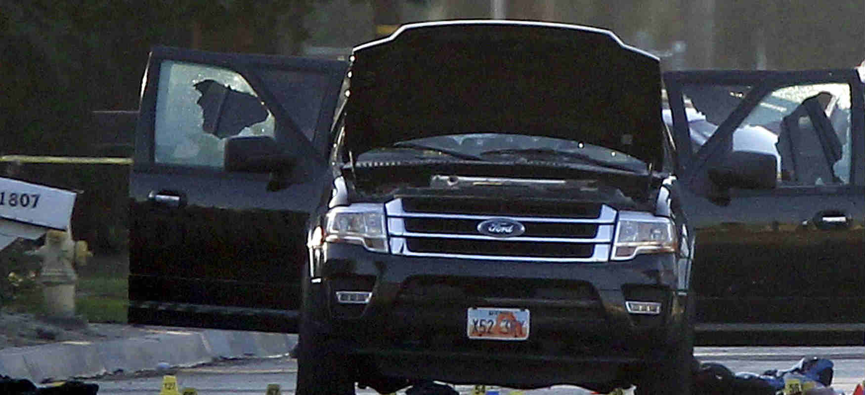 The San Bernardino Mass Shooting Getaway Car 2nd Location
