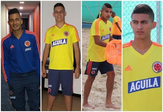 Cuatro tolimenses convocados a Selección Colombia de Fútbol Playa, que competirá en Sudamericano Sub-20
