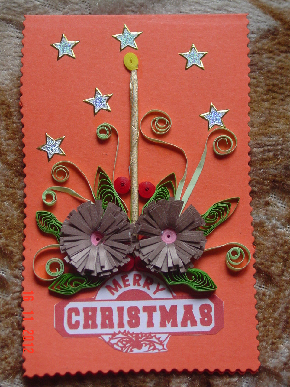 Faith's Quilling : Christmas Cards