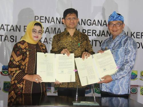 Kerja Sama Aplikasi Smart Cirty Kota Bandung