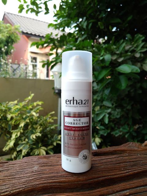 Review ERHA age corrector night moisturizer