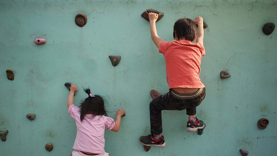 Wall Climbing for Kids and Adults