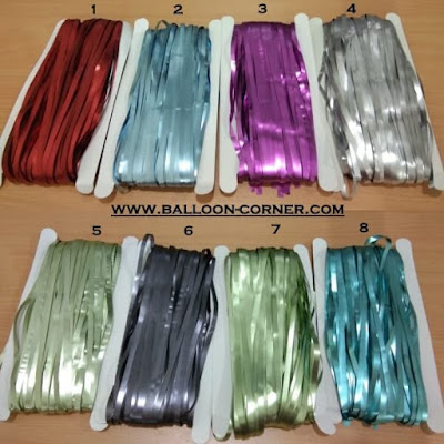 Foil Curtain / Tirai Foil Superior Quality (SOFT COLOUR)