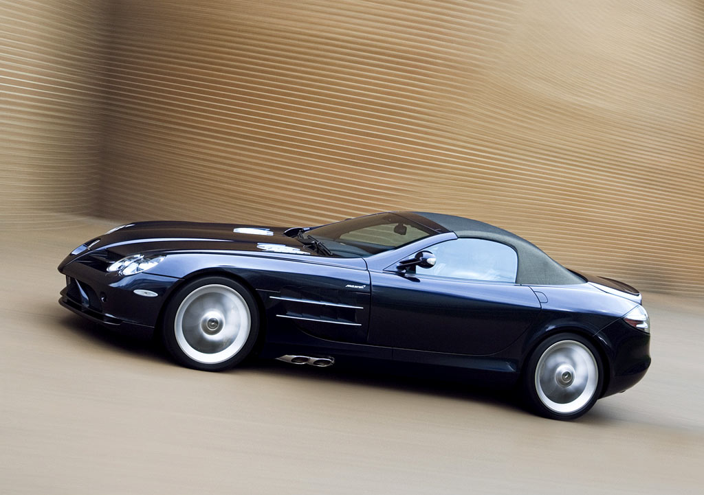 World of cars mercedes benz slr for Mercedes benz of seattle