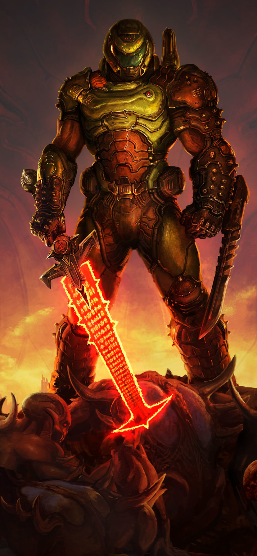 DOOM Eternal mobile wallpaper