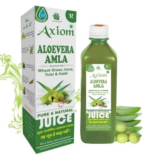 Axiom Aloevera Amla Juice 1 Litre