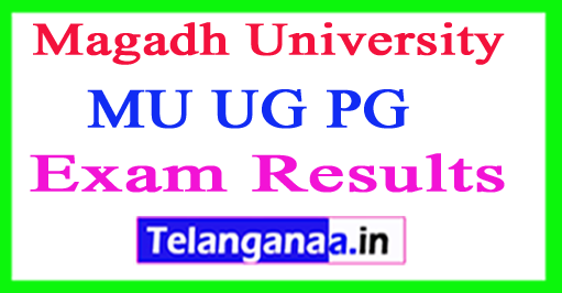 Magadh University Results 2018 MU UG PG Results
