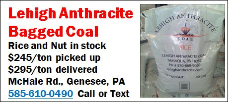 Lehigh Anthracite Bagged Coal