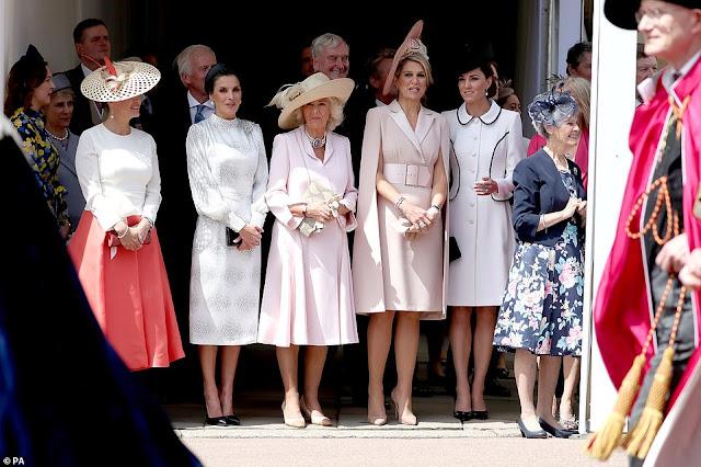 Rodzina Królewska na Garter Day