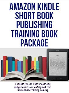 Amazon Kindle Short Book Publishing Training