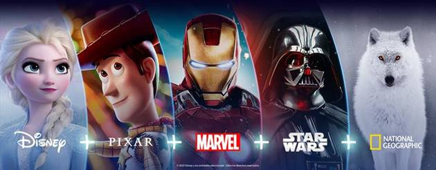 Disney+ chega à América Latina e ao Brasil em 17 de novembro