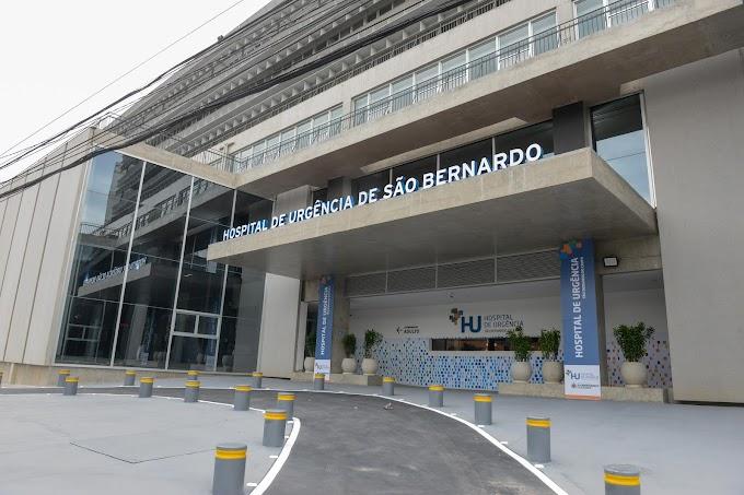 Covid-19: Hospital de Urgência de São Bernardo comemora bons resultados