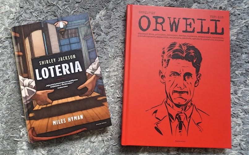 """Czas na komiksy: """"Loteria"""" i """"Orwell"""""""