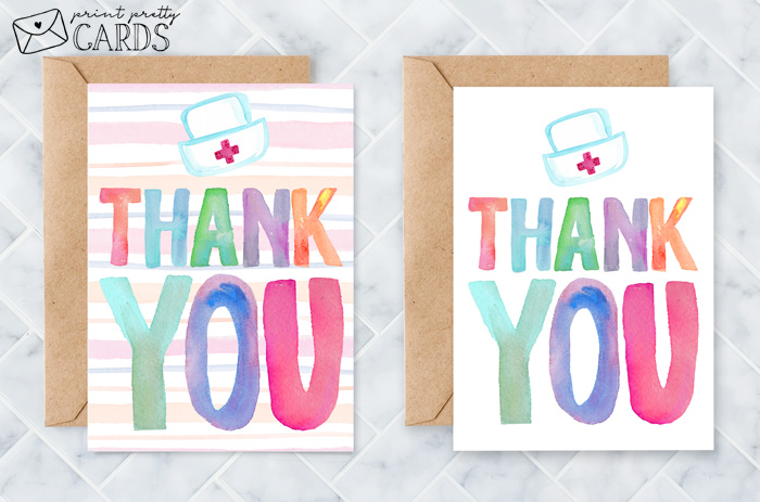 Free Printable Nurse Appreciation Cards