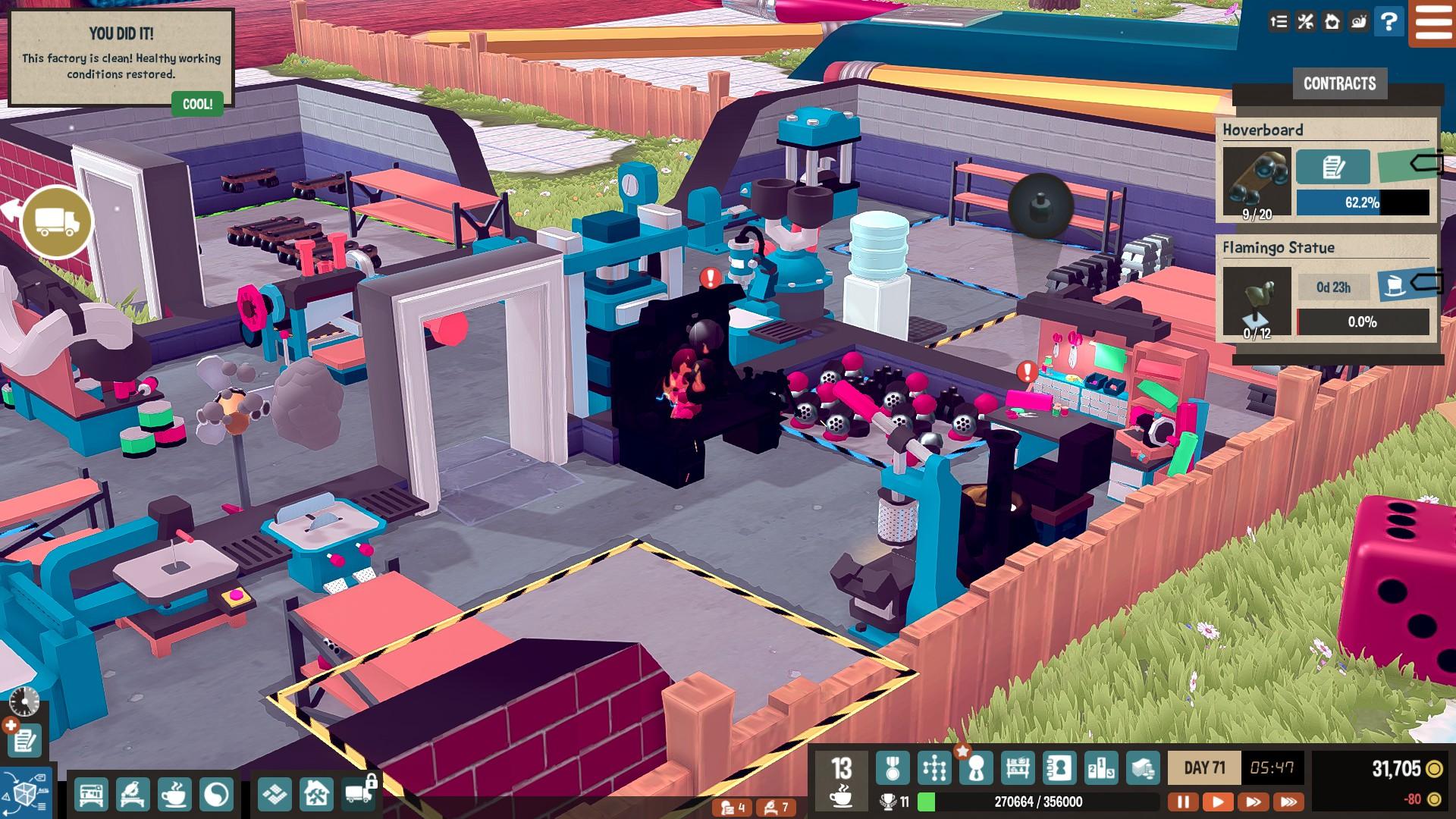 Little Big Workshop Workstation on Fire