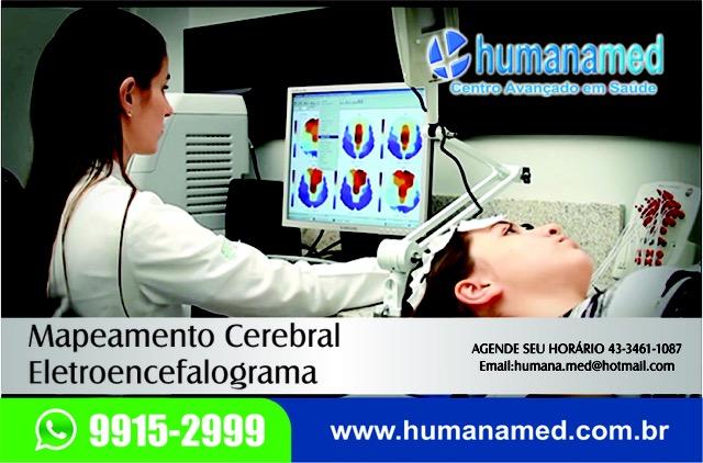 Mapeamento cerebral exame