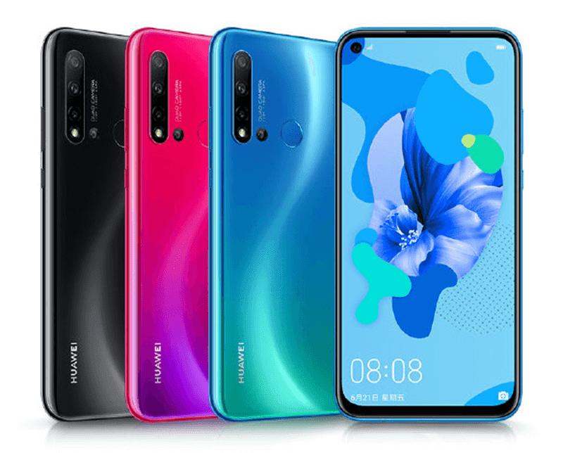 Huawei Nova 5i with punch-hole screen, quad-rear cameras announced