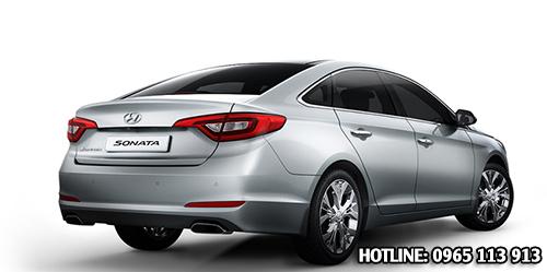 Đuôi xe Hyundai Sonata Hải Phòng