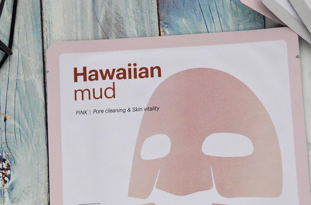Skin79 Hawaiian Mud - Maski w płacie Green i Pink