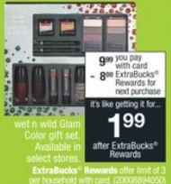 Wet 'n Wild Glam Color Gift Set