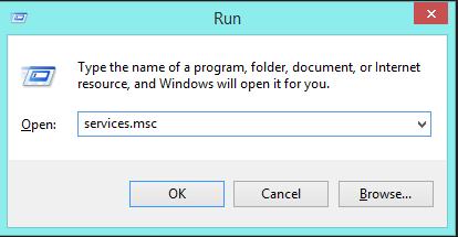Menonaktifkan Windows Update