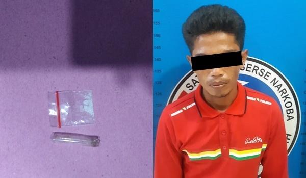 Hendak Transaksi Sabu, Pria Ini Ditangkap Satres Narkoba Polres Lampung Tengah