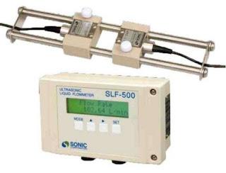 Sonic SLF-500 Ultrasonic Clamp On Flow Meter