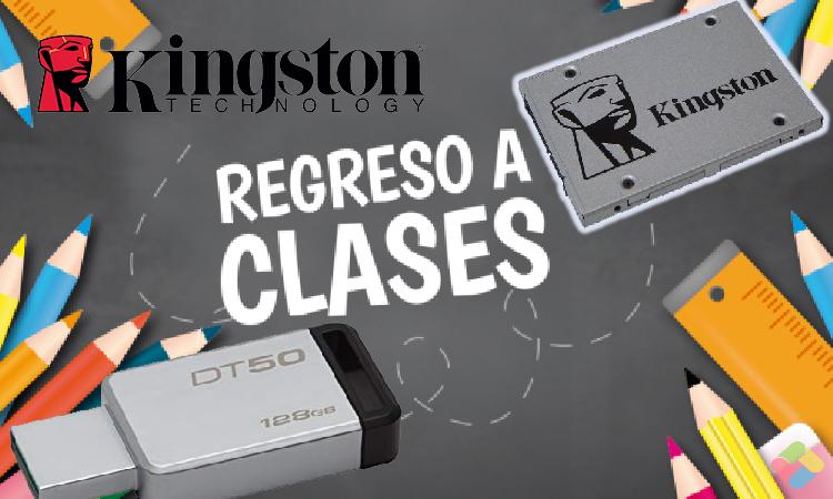 Guía de Compras - Regresa a clases con Kingston