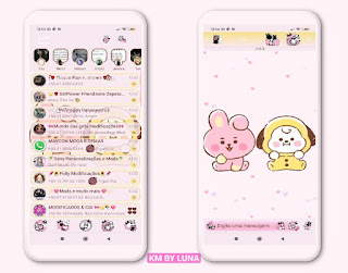 Teddy Bear Theme For YOWhatsApp & KM WhatsApp By Luna