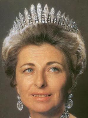 austria liechtenstein habsburg diamond fringe tiara kochert princess gina