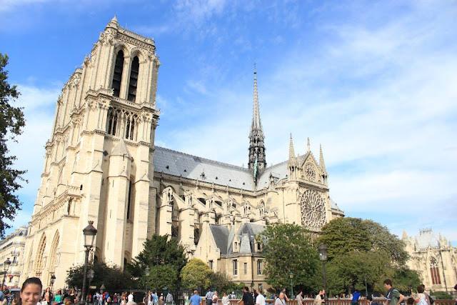 巴黎景點 聖母院