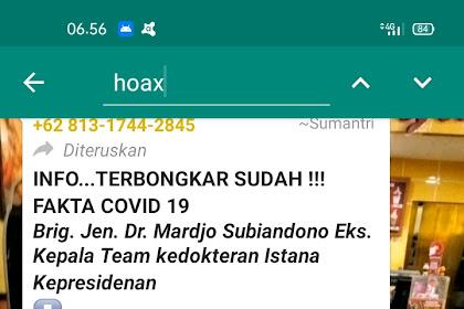 Tips Menghindari Berita Hoax - Jangan Menjadi Bagian dari Hoax