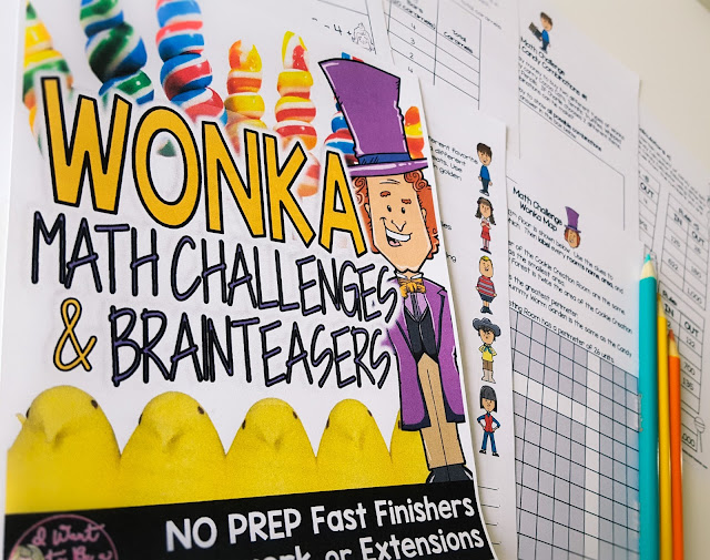 https://www.teacherspayteachers.com/Product/WONKA-Math-Challenges-Brainteasers-Candy-Themed-FF-Homework-Extensions-3022026