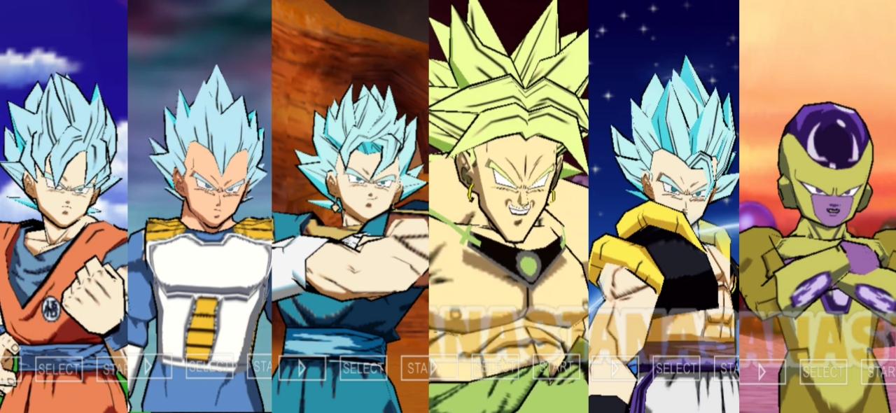 Dragon Ball Super Shin Budokai 2 Mod