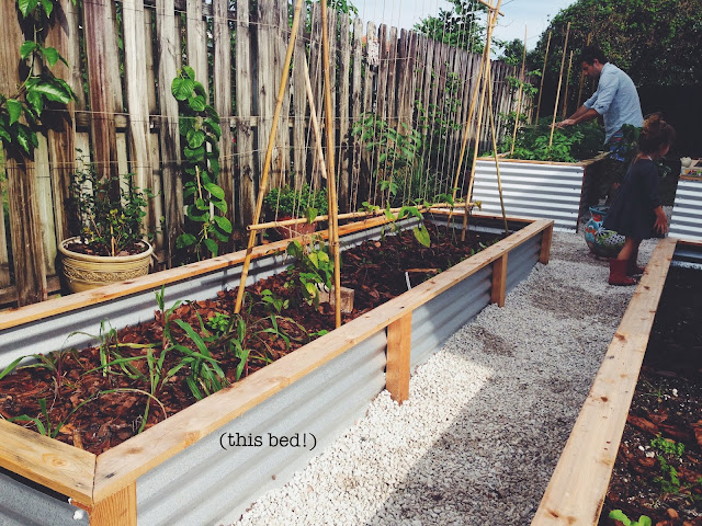 ohdeardrea Our Raised Beds Easy Metal Wood Garden Bed How To DIY